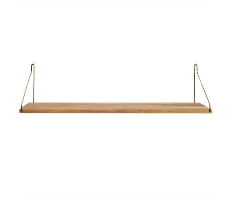 Frama Shop Boghylde Gold Brass messing eg 80x20cm