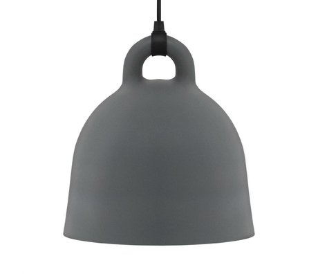 Normann Copenhagen Lampada a sospensione Campana grigio alluminio L Ø55x57cm