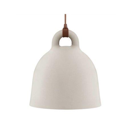 Normann Copenhagen Hängelampe campana sabbia marrone alluminio S Ø35x37cm