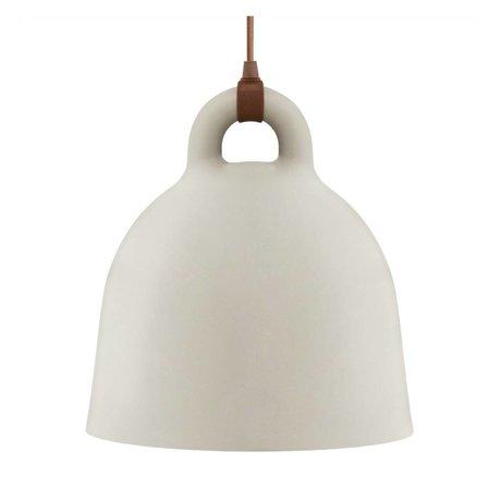 Normann Copenhagen Hängelampe campana sabbia marrone alluminio Ø42x44cm M