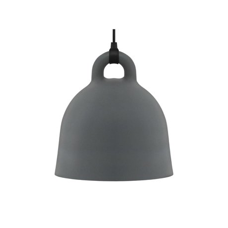 Normann Copenhagen Pendel Bell grå aluminium S Ø35x37cm