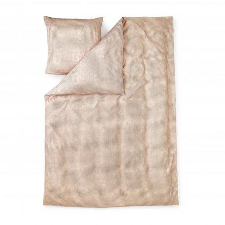 Normann Copenhagen Duvet Cover Plus coton rose 140x200cm