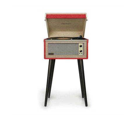 Crosley Crosley Bermudes 28x43,2x17,8cm vintage rouge