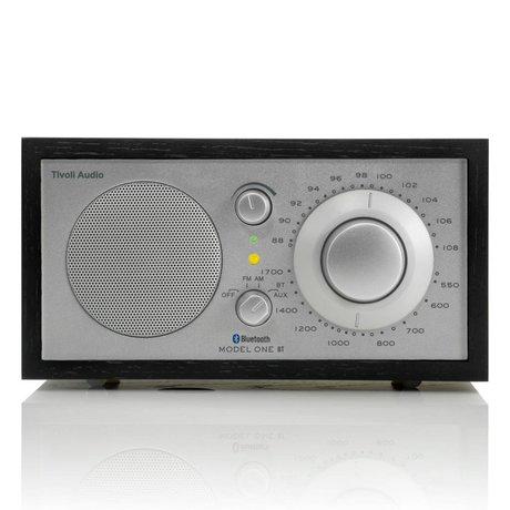 Tivoli Audio Shop Tischradio One Bluetooth silber schwarz 21,3x13,3xh11,4cm