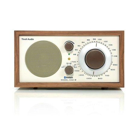 Tivoli Audio Shop Tabella Radio One Bluetooth Noce beige 21,3x13,3xh11,4cm