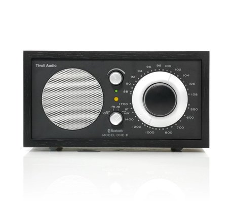 Tivoli Audio Shop Tabel Radio One Bluetooth sort 21,3x13,3xh11,4cm