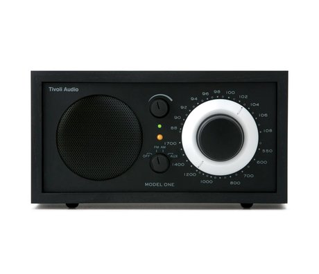 Tivoli Audio Shop Table Radio One black 21,3x13,3xh11,4cm