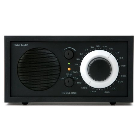 Tivoli Audio Shop Table Radio One 21,3x13,3xh11,4cm noir