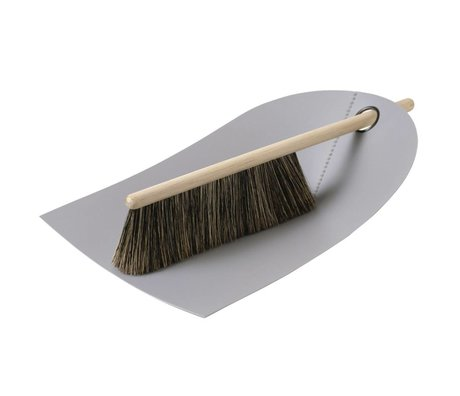Normann Copenhagen Dustpan and brush Dustpan & Broom light gray 24x32cm