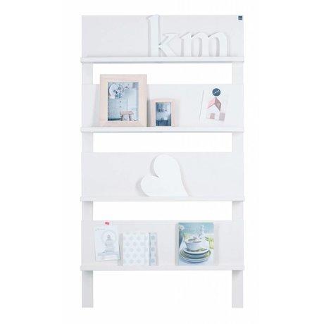 LEF collections 101 Muro borlande di pino, bianco, 178X80X11cm