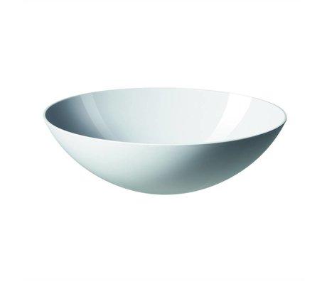 Normann Copenhagen Salatschüssel Krenit in weiß aus Melamin 28x9cm