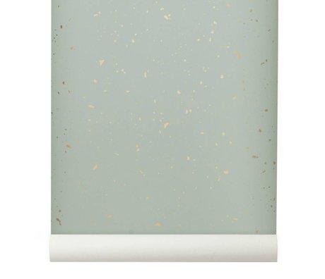 Ferm Living Tapete Confetti Minze 10x0,53m