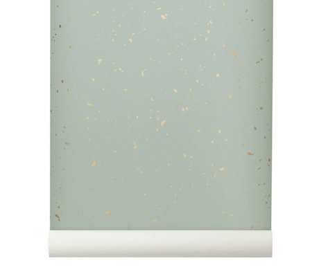 Ferm Living Wallpaper Confetti mint 10x0,53m