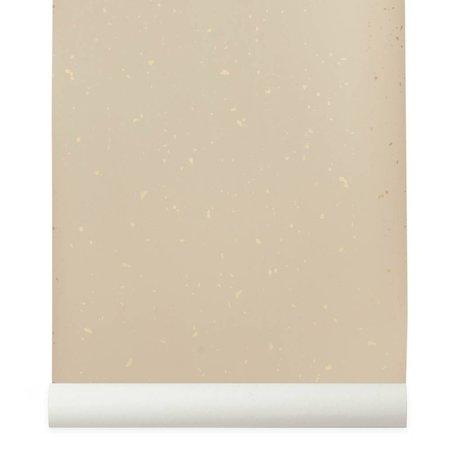 Ferm Living Confetti pink wallpaper 10x0,53m