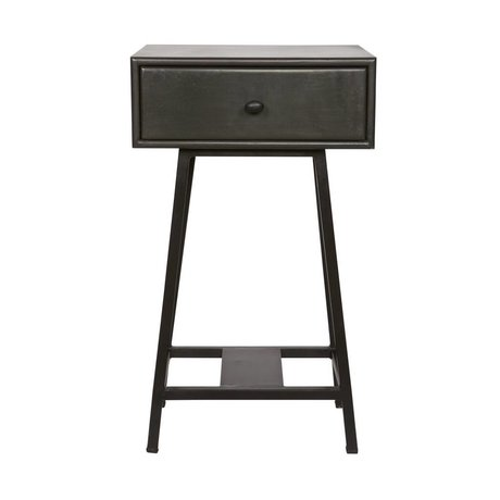 BePureHome Side Table Skybox 70x45x30cm en métal noir