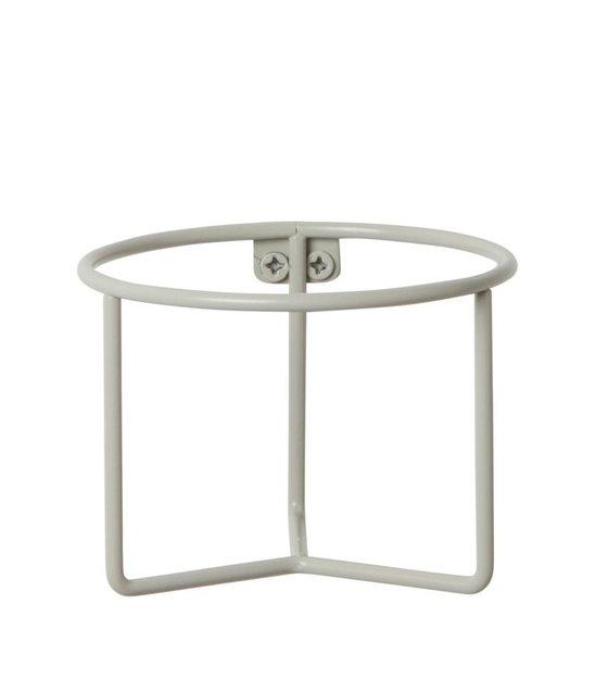 ferm living pflanzenhalter grau metall 15x11cm. Black Bedroom Furniture Sets. Home Design Ideas