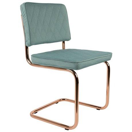 Zuiver Dining Chair Diamant mintgrün Polyester 48x48x85cm
