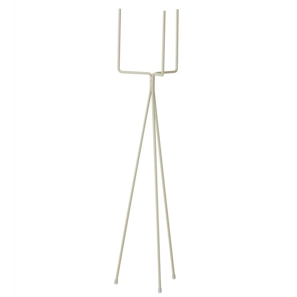 ferm living pflanzen standard gro e graue metall 15x65cm. Black Bedroom Furniture Sets. Home Design Ideas