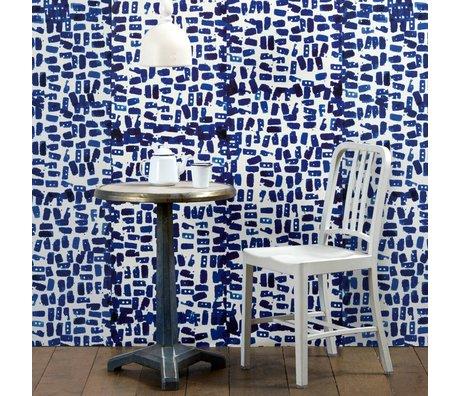 NLXL-Paola Navone Wallpaper Tye & Dye blau 900x49cm