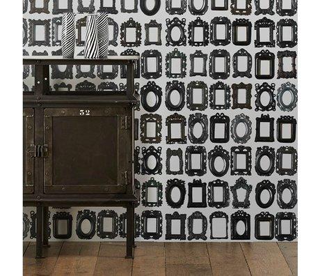 NLXL-Daniel Rozensztroch Cadres papier peint 1000x48,7cm noir et blanc