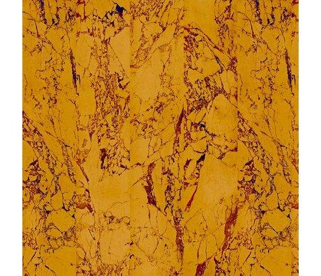 NLXL-Piet Hein Eek Fond d'écran d'or de papier en marbre 80 or 900x48,7cm