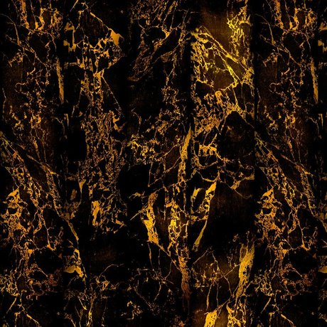 NLXL-Piet Hein Eek Fond d'écran Marble papier Black Metallic 70 cm 900x48,7 noir