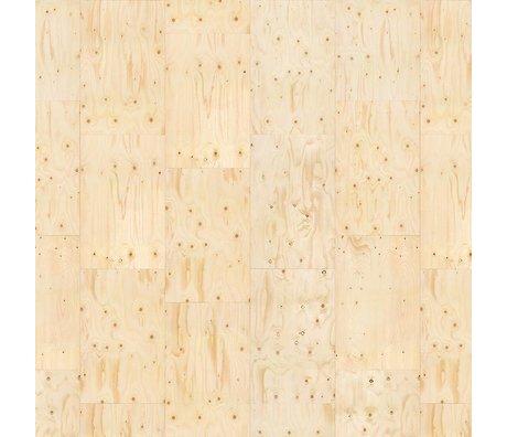 NLXL-Piet Hein Eek Sperrholz Tapete Papier beige 900x48,7cm