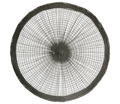 Housedoctor Manteles individuales de papel gris Ø38cm