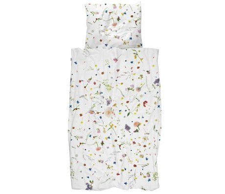 Duvet Flower Fields coton Multicolor 260x200 / 220cm