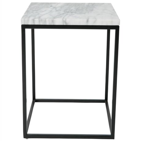 Zuiver Side Table Marble Power marble 32x32x43cm