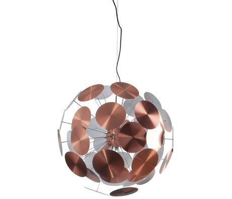Zuiver Hängeleuchte Work Viel Metall Kupfer Ø65x185cm