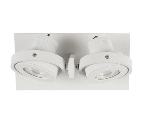 Zuiver LUCI Wall lamp-2 LED aluminum white 23x11,5x12,8cm