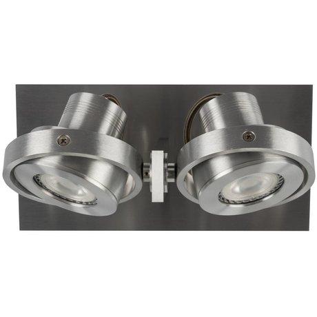 Zuiver Wandlmap LUCI-2 LED-Aluminiumgrau 23x11,5x12,8cm