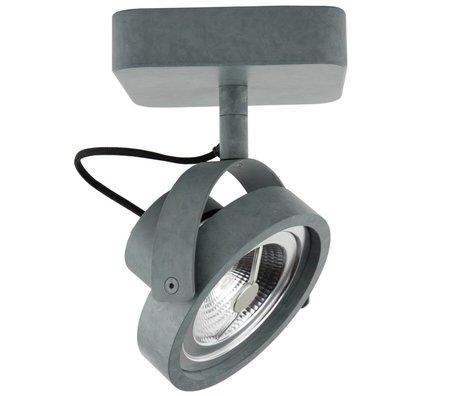 Zuiver Wandlampe DICE ein LED-Stahlgrau 12x12x3cm