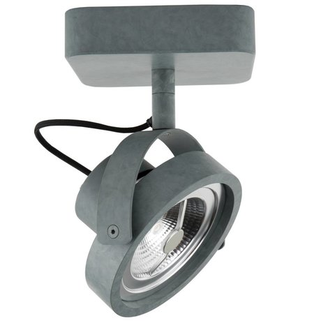 Zuiver Wall lamp DICE 1 LED steel gray 12x12x3cm
