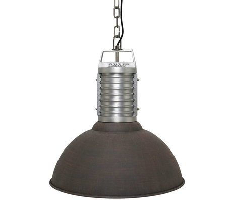 Anne Lighting Anne Philippe hanging lamp Oncle brown aluminum ø50x192cm