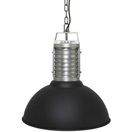 Anne Lighting Anne Philippe hanging lamp Oncle black aluminum ø50x192cm