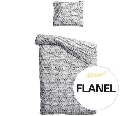 Snurk Linge Twirre, flanelle, gris, disponible en 3 tailles