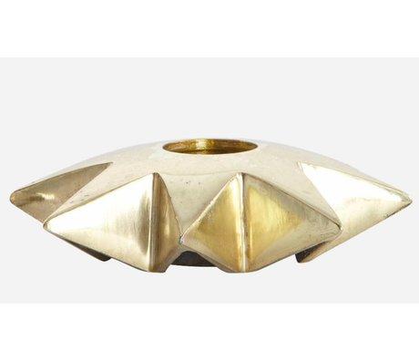 Housedoctor Chandeliers Star 'de l'aluminium, du cuivre, Ø9.5xh2.5 cm