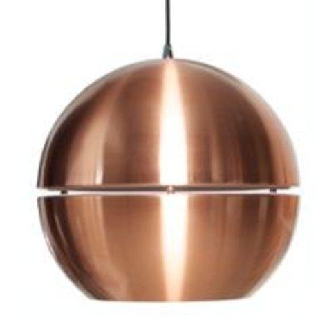Zuiver Lámpara colgante 'Retro 70' de metal, cobre, Ø50x47cm