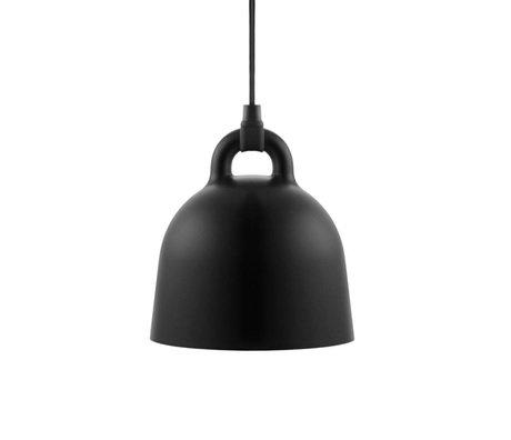 Normann Copenhagen Bell lampe suspendue aluminium noir XS Ø22x23cm