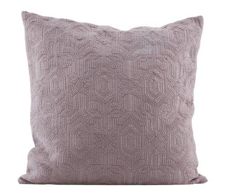 Housedoctor Kissenbezug Sechzig rosa Baumwolle 60x60cm