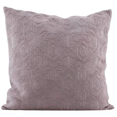 Housedoctor Funda de almohada de algodón de color rosa 60x60cm Sesenta