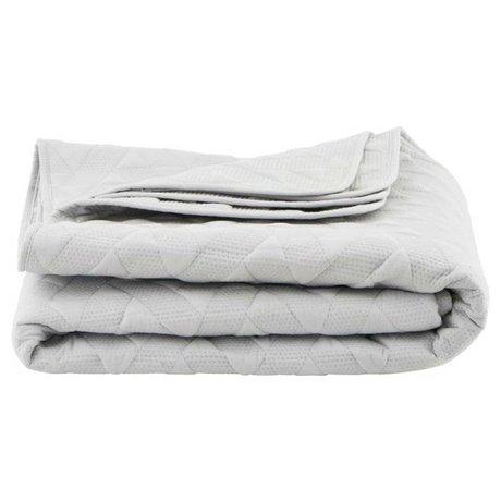 Housedoctor White cotton duvet 140x220cm Leh