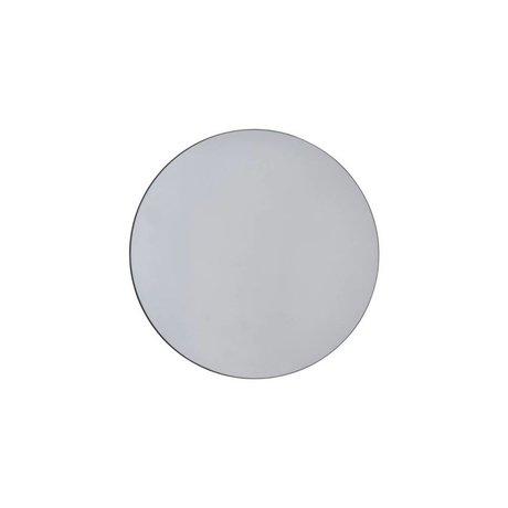 Housedoctor Spejl vægge grå glas Ø50cm