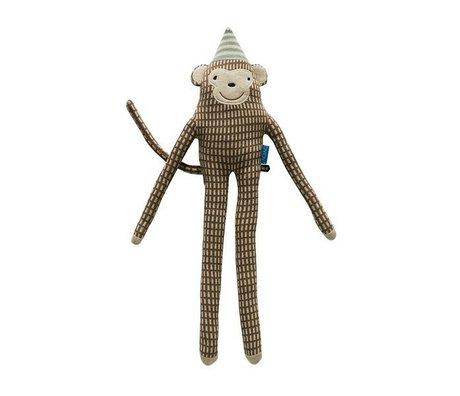 OYOY Hug mr. Nelsson brown 62x17cm cotton