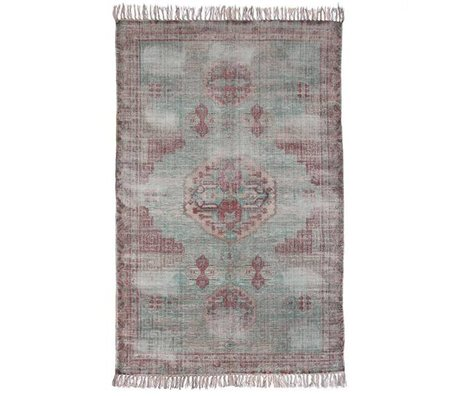 HK-living Teppich Mehrfarben Baumwolle 180x280cm