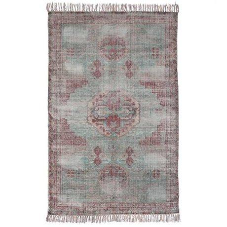 HK-living Tapis multicolore coton 180x280cm