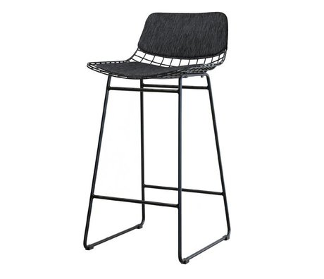 HK-living comfort kit black for metal wire bar stool