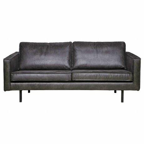 BePureHome Sofa Rodeo 2.5-sæde sort læder 190x86x85cm